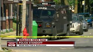 Standoff in Riverwest ends - Video