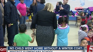 Firefighters Coat Drive Benefits Students - Video