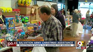 Salvation Army Christmas assistance - Video