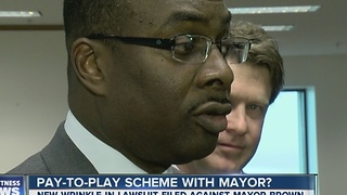Pay-to-Play Lawsuit Against Mayor Brown