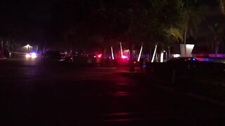 Large police presence in Palm Beach Gardens