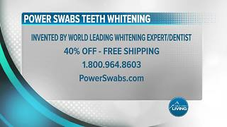 Power Swabs: Receive 40 Percent Off With Free Shipping - Video