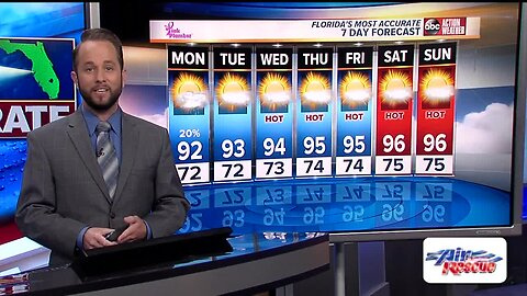 Florida's Most Accurate Forecast with Jason on Saturday, May 19, 2019