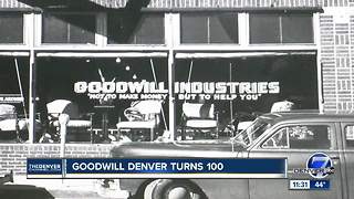 Goodwill Denver celebrates 100th birthday - Video