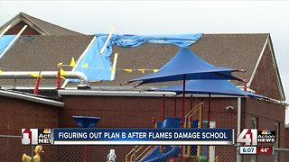 Orrick superintendent weighing options after fire at school