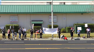 40 Days for Life Lancaster California - Spring Campaign Mid-Point Prayer Walk