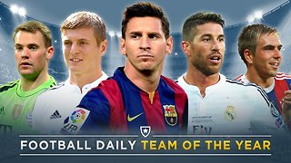 Football Daily's Team of the Year 2015! | #FDW - Video