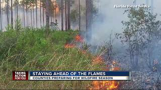 Counties preparing for wildfire season - Video