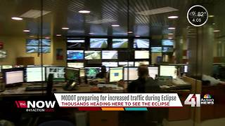 MODOT prepares for heavy traffic during total solar eclipse - Video