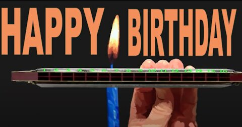 How to Play Happy Birthday on a Tremolo Harmonica with 16 Holes
