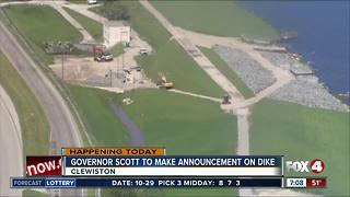 Gov. Scott to make funding announcement regarding Herbert Hoover Dike - Video