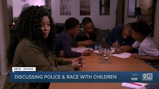 Discussing police and race with children