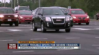Hillsborough County reveals top 20 severe crash corridors - Video