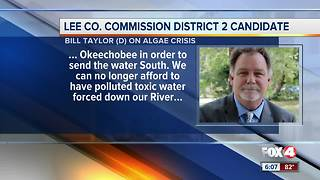 Lee County Commission Bill Taylor on algae crisis - Video