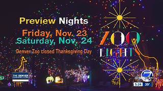 Denver Zoo to be closed Thanksgiving & Christmas - Video