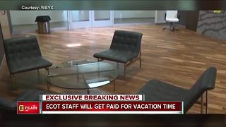 ECOT staff will get paid for vacation time - Video