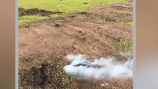 More military flares found on Hutchinson Island - Video