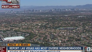 Study: Las Vegas neighborhoods among the most diverse in US - Video