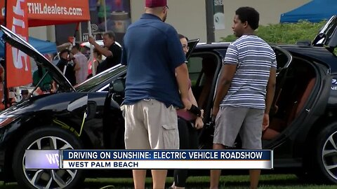 Driving on sunshine: Electric vehicles showcased in West Palm Beach