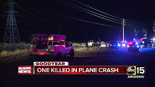 Small plane crashes near Phoenix Goodyear Airport