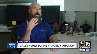 Valley father bringing joy to others with Hot Wheels after son's death - Video