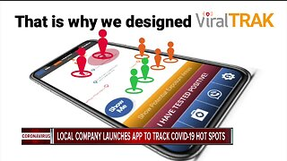 Local company launches app to track COVID-19 hot spots