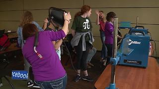 'Smart Girls Rock!' highlights STEM careers to high school students - Video