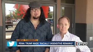 Penn Jillette speaks out about Donald Trump
