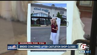 Bridal Shop's Sudden Closure Leaves Customers In the Lurch - Video