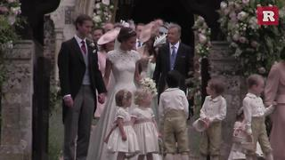 Prince George made for a cute page boy at Pippa's wedding | Rare People - Video