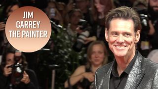 Jim Carrey explains his secret talent for painting - Video