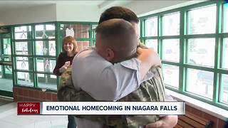 Special surprise homecoming for soldier