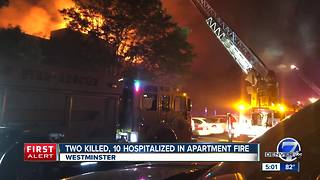 2 killed, multiple others injured in overnight Westminster apartment fire - Video