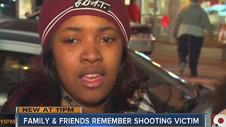 Family and friends hold vigil for 17-year-old shooting victim - Video