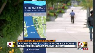 Could proposed bike trail network 'CROWN' Queen City among the best? - Video