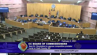 WATCH FULL | Clark County Commission discusses varmint hunts on Feb. 2, 2021