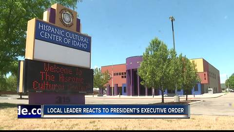 Local leaders react to President Trump's executive order