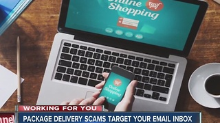 AG warns of emailed package delivery scams - Video