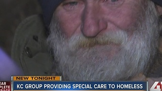 Group brings medical care to the homeless of KC - Video