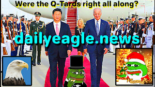 Analysis: Were the Q-Tards right all along?
