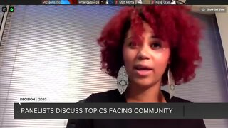 Part 3: Panelists discuss topics facing community
