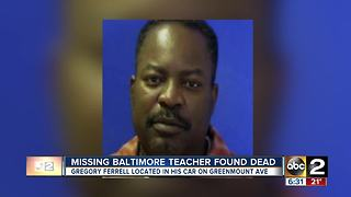 Missing Baltimore teacher found dead - Video