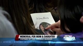 Memorial for Vail double homicide victims - Video