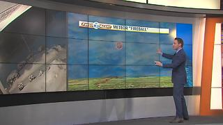 Meteorologist Kevin Jeanes discusses meteor that lit up the sky - Video