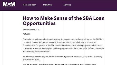 Friday marked first day to apply for $350B in federal small business loans