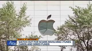Call 4 action: Watch out for scams involving iTunes cards and wired funds - Video