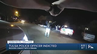Tulsa police officer indicted