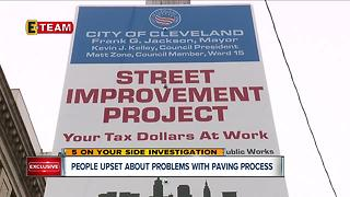 Cleveland residents say cars were ticketed or towed without warning due to street repaving - Video