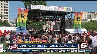 2018 Indy Pride Fest going smoke-free - Video