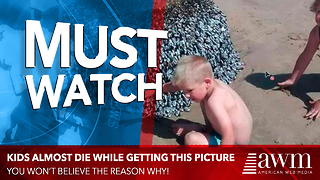 Days After Taking Photo, Cops Are Telling Family They Are All Lucky They Didn't Die - Video
